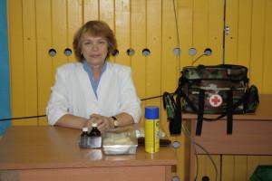 Царенкова Лидия Васильевна, медсестра